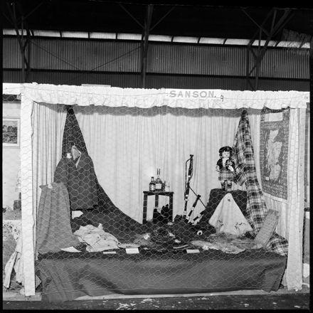 """Feilding Show"" Sanson Tableau with Scottish Accoutrements"
