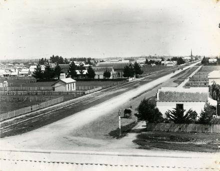 View of the Corner of Albert and Broad Street