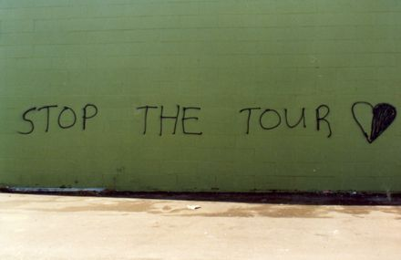 Springbok Tour - graffiti