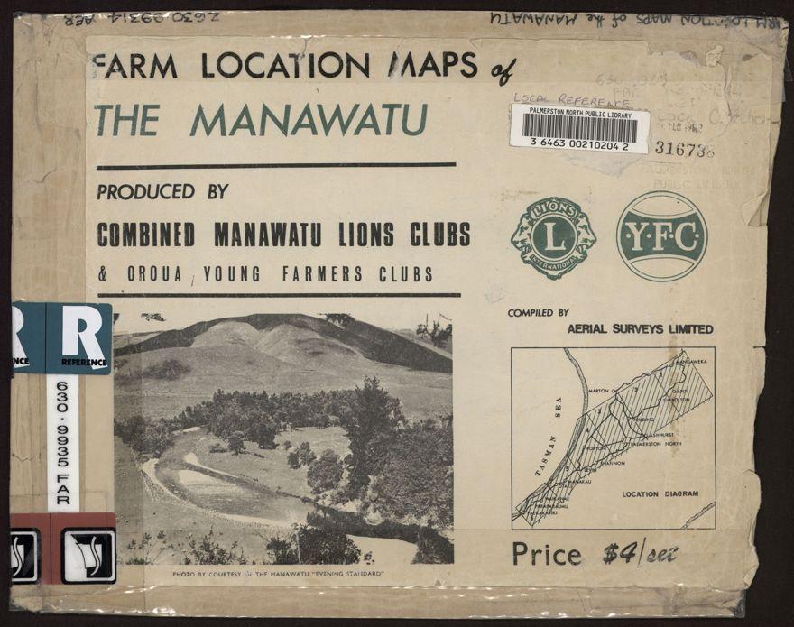 Farm Location Maps of the Manawatu