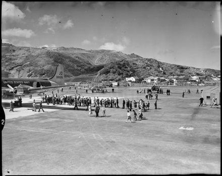 """Wellington Airport Opening"""