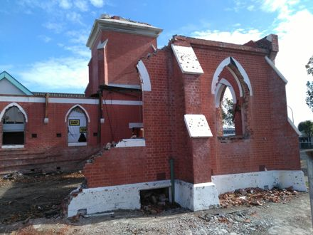 Demolition of Wesley Broadway Church - 8