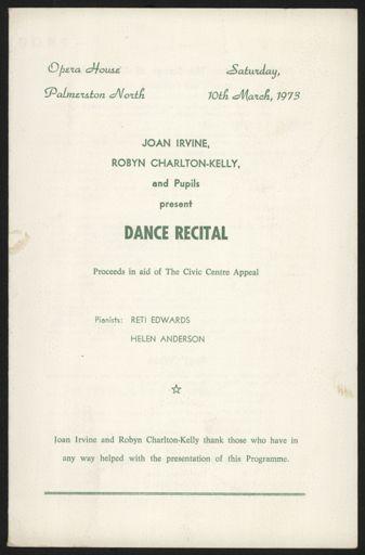 Joan Irvine and Robin Charlton-Kelly Dance Recital