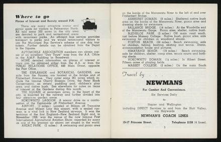 Palmerston North Diary: April 1958 3