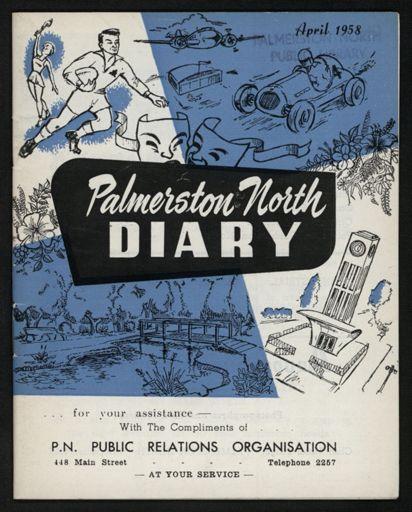 Palmerston North Diary: April 1958 1
