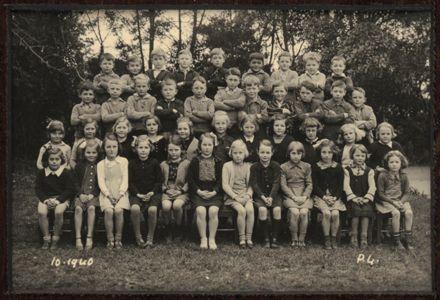 Terrace End School - Primer 4, 1940