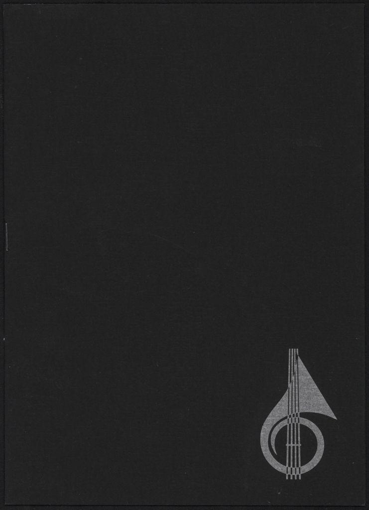 Manawatū Sinfonia and Renaissance Singers concert programme