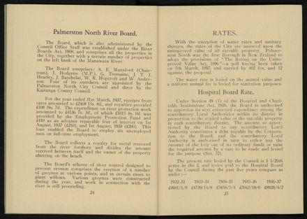 City of Palmerston North Municipal Hand Book 1937 14