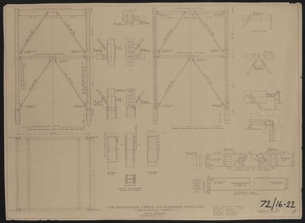 Architectural Plans, T&G Building 14