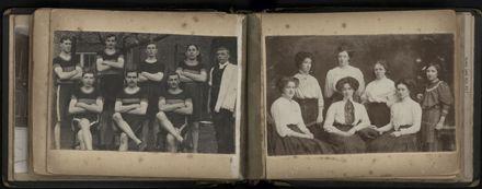 R.E. (Dick) Moxon - Photograph and news clipping album - 12
