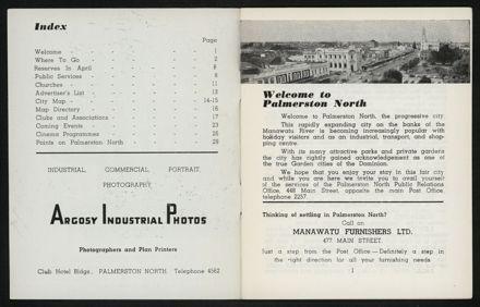 Palmerston North Diary: April 1958 2