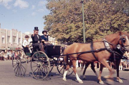Centennial Parade - horse and cart