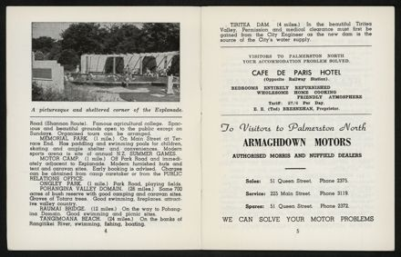 Palmerston North Diary: May 1958 4