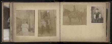 R.E. (Dick) Moxon - Photograph and news clipping album - 9