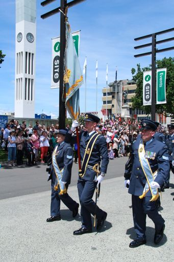 Air Force Personnel, Charter Parade, 2016