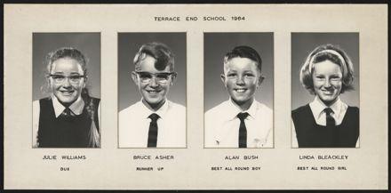 Terrace End School Student Leaders, 1964