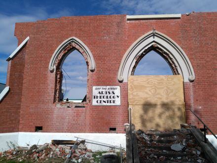 Demolition of Wesley Broadway Church - 12