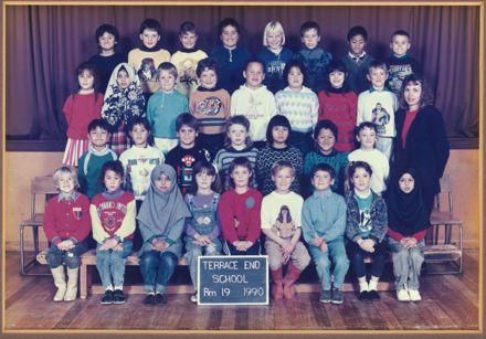 Terrace End School - Room 19, 1990