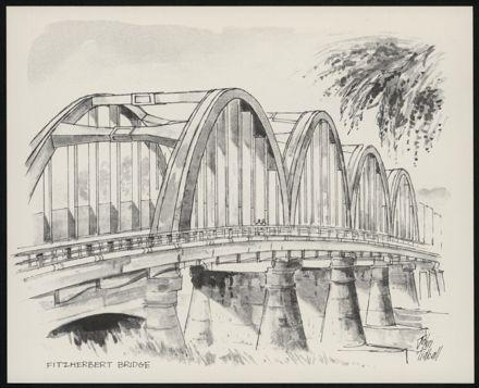 Palmerston North: A Portfolio of Six Sketches 4