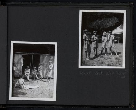 Kairanga Girl Guide Company photograph album