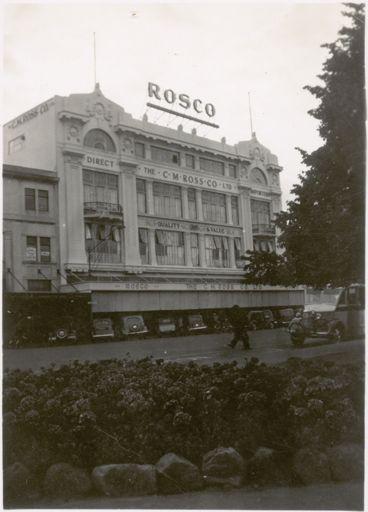 CM Ross Building, 1940s