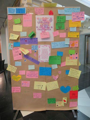Christchurch terror attack memorial messages - 8