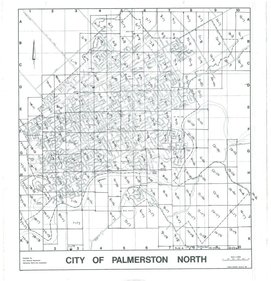 1986 Aerial Map