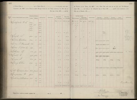 Palmerston North Rate Book, 1893 - 1896, 207