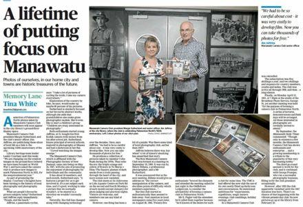 "Memory Lane - ""A lifetime of putting focus on Manawatū"""
