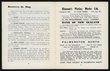 Palmerston North Diary: May 1958 5