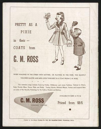 Peter Pan Programme, Palmerston North Opera House11
