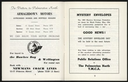 Palmerston North Diary: July 1960 - 4