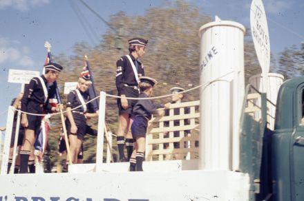 Centennial Parade - Boys' Brigade float