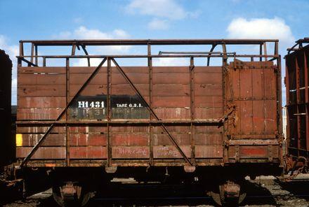 H class freight wagon