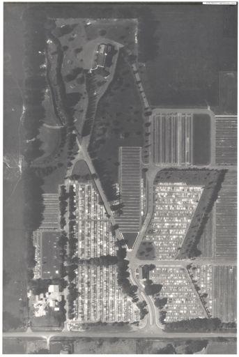 Aerial Map, 1986 - Kelvin Grove Cemetery