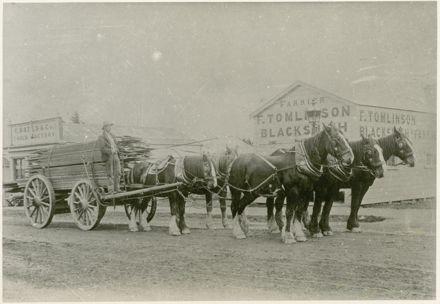 F Tomlinson, Blacksmith