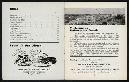 Palmerston North Diary: May 1958 2