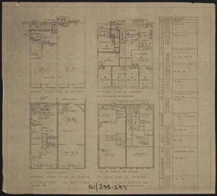 Architectural Plans for National Bank of New Zealand, Corner of Cuba Street & Rangitikei Street 7