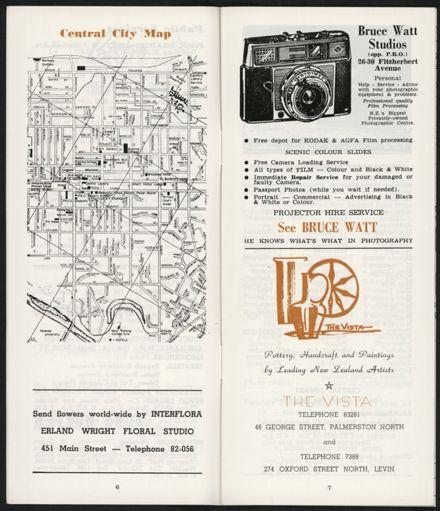 PRO Visitors Guide: Circa 1970's - 5