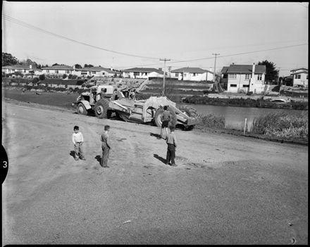 """""""Reconstruction Work on Centennial Drive"""""""