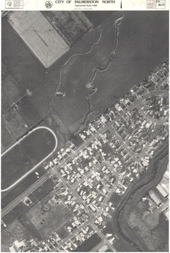 Aerial Map, 1986 - 80-10