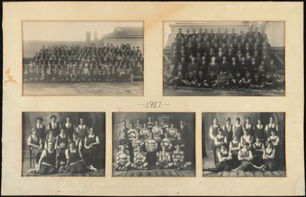 Palmerston North Technical School Photographs, 1927