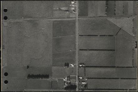 Aerial map, 1966 - B9