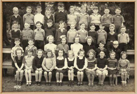 Terrace End School Class Photograph, 1951