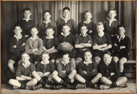 Palmerston North Technical School Third XV Rugby, 1937