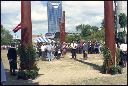 Re-dedication of Te Marae o Hine