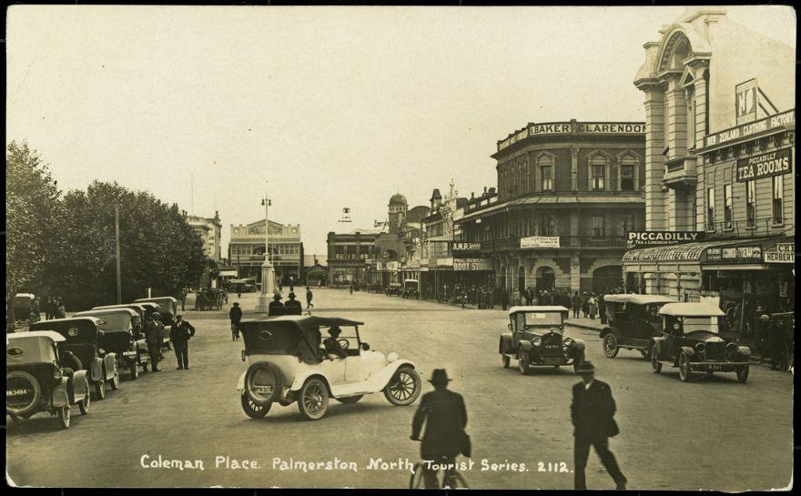 Coleman Place, c 1923 1