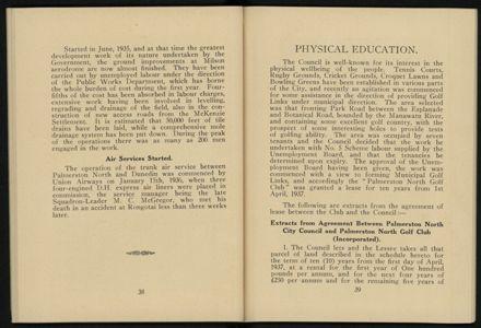 City of Palmerston North Municipal Hand Book 1937 21