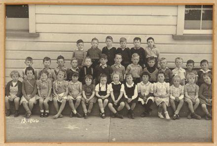 Terrace End School Room 13, 1946