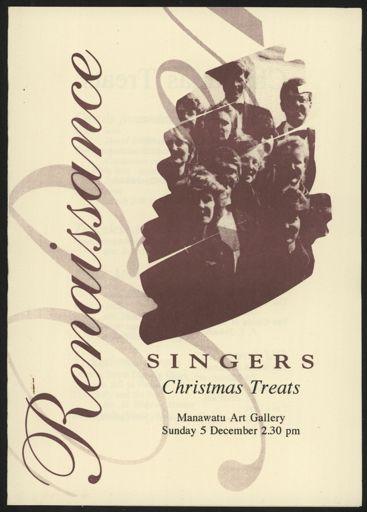 Renaissance Singers Christmas Concert